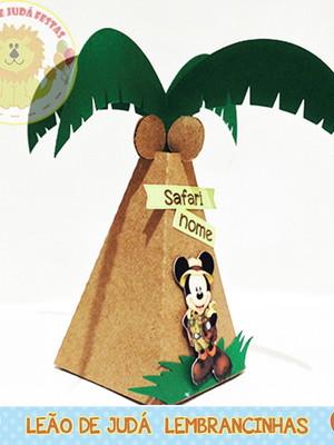 Caixinha Piramide mickey modelo 2