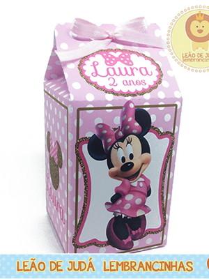 Caixa Milk Minnie Rosa modelo 2