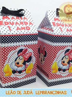 Caixa milk Minnie modelo 3