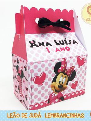 Caixinha Sorriso tema Minnie modelo 3