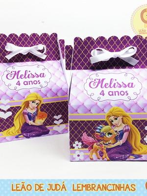 Caixinha Sorriso tema Rapunzel