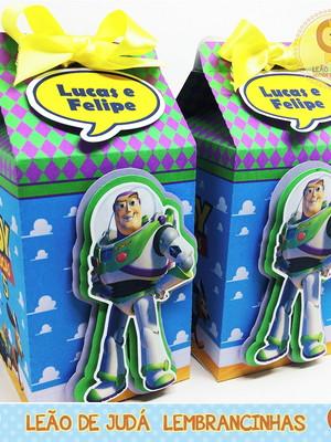 Caixa Milk Com aplique toy story modelo 2