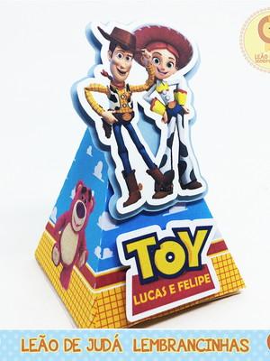 Caixinha Piramide toy story