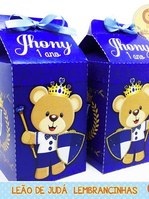 Caixa milk reinado do urso modelo3
