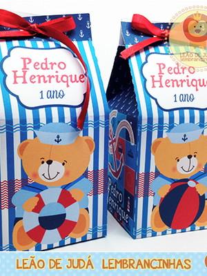 Caixa milk Urso marinheiro