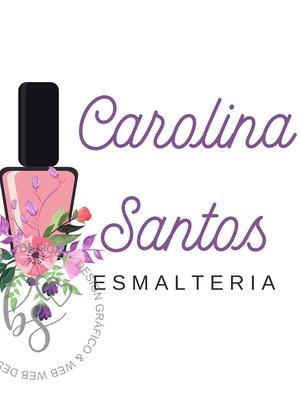 Logo/ Logotipo Pré-Criada Exclusiva Esmalteria