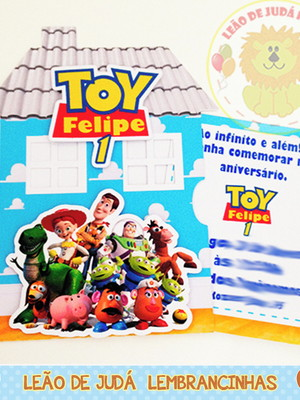 Convite casa Toy