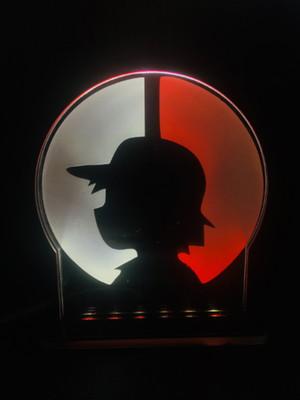 Luminária Ash Pokémon
