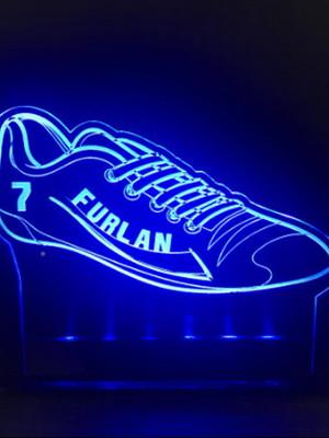 Luminária Personalizada Chuteira Futebol