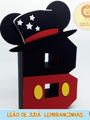 Letra 3D Decorada tema Circo de Mickey
