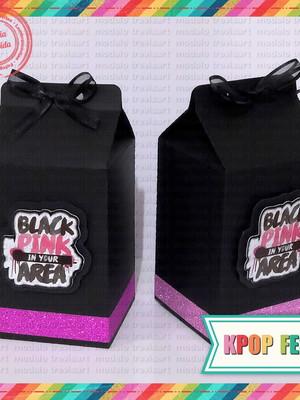Caixinha Milk - Blackpink