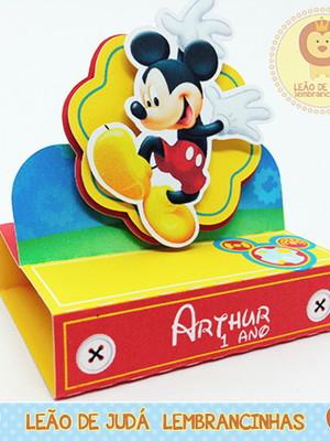 Porta Bis Duplo Tema Mickey