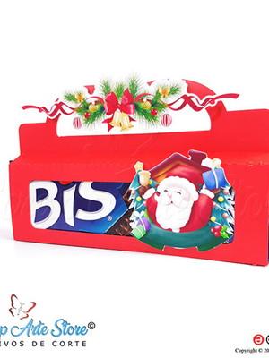 Arquivo de Corte Caixa para Bis papai Noel