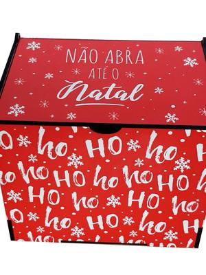 Caixinha Porta-Treco de Natal de MD Estampada