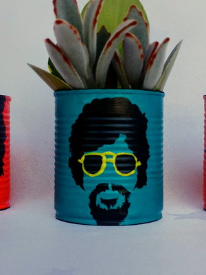 Raul Seixas | lata para plantas
