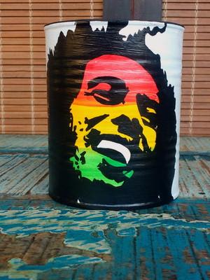 Bob Marley | lata para plantas