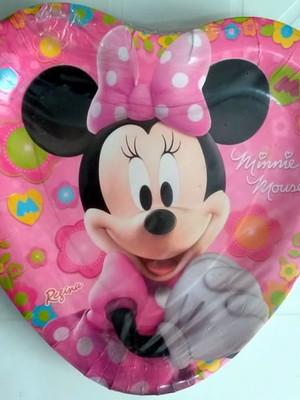 Pratinho Minnie Mouse Aniversário (08 Pratinhos)