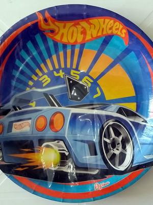 Pratinho Hotwheels Aniversário (08 Pratinhos)