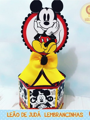 Centro de Mesa Tema Mickey