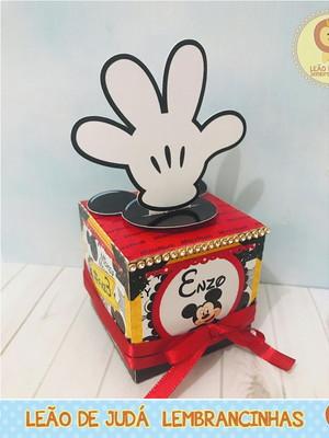 Caixinha Cubo Mickey