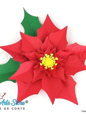 Arquivo de Corte Flor de Natal