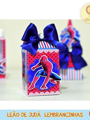 Caixa Milk Com aplique homem Aranha