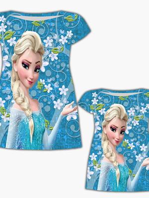 Vestido Mãe e Filha - Menina Do Gelo