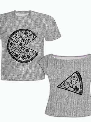 Camisa Masculina + Camisa Feminina - Pizza