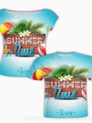 Camisa Masculina + Camisa Feminina - Tropical 6