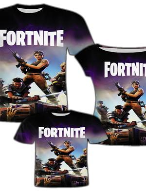 Camisa Pai e Filho + Camisa Mãe - Fort