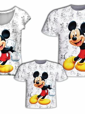 Camisa Pai e Filho + Camisa Mãe - Mick Branco