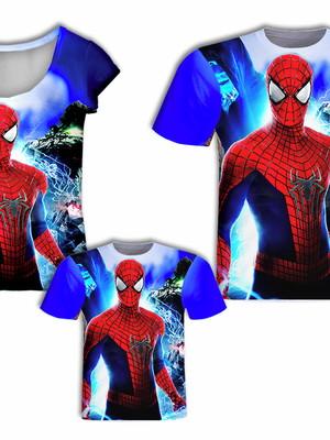 Camisa Pai e Filho + Camisa Mãe - Aranha