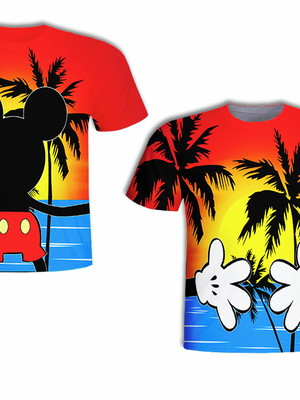 Camisa Infantil - Mick Praia