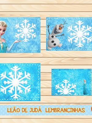 Adesivo escolar - 40 unidades tema Frozen - Frete Grátis