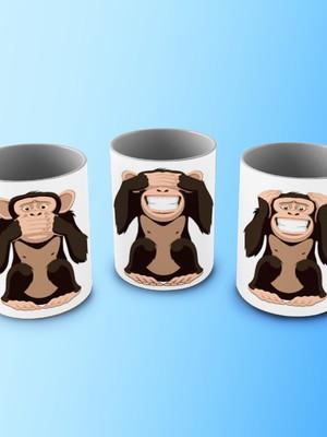 Caneca Macacos
