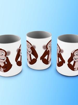 Caneca Macacos 1