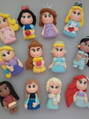 Apliques de Princesas 2D de EVA para laços e Lembrancinhas
