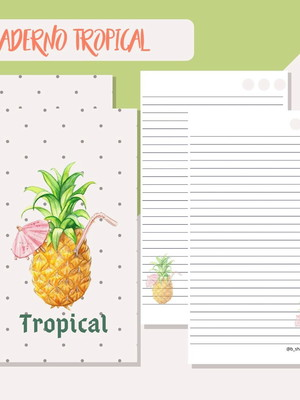 Caderno Digital Tropical