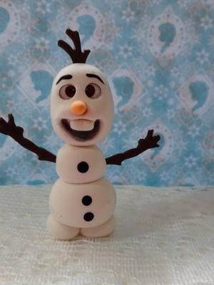 Frozen p/ decoração e dar de lembrancinha Olaf de EVA