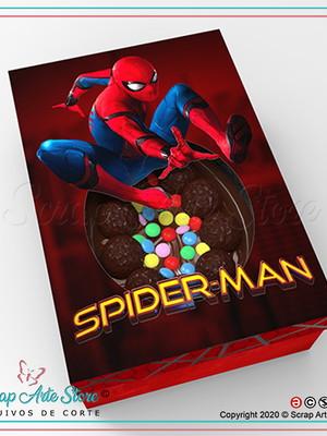 Arquivos para caixa para ovo de colher homem aranha