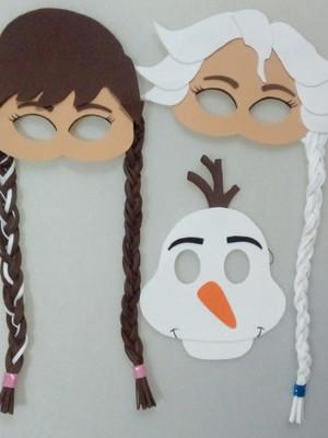 Mascaras infantil Frozen de eva