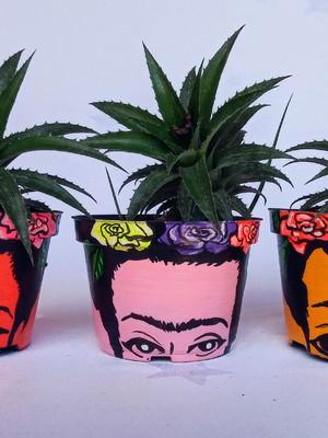 Frida Kahlo | vaso pequeno