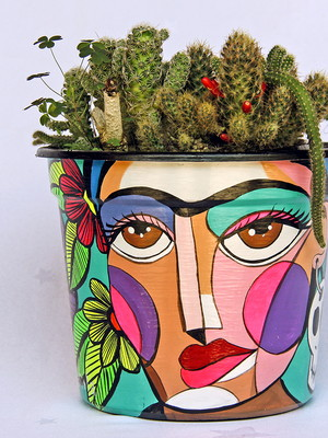 Frida Kahlo | vaso grande