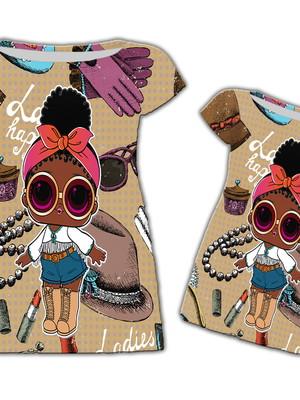 Vestido Mãe e Filha - LOL Afro