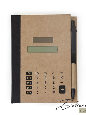 Bloco de Anotações com Autoadesivos e Calculadora - DS12737