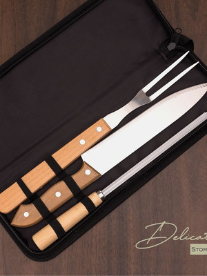 Kit Churrasco 3 peças - DS13768