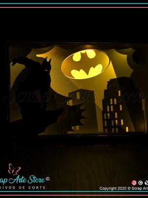 Arquivos de corte shadow box the Batman