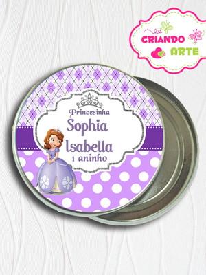 Latinha Personalizada Princesinha Sofia