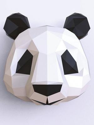 Arquivos de corte Panda Low Poly