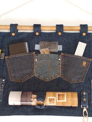 Painel Organizador Jeans - Pronta Entrega